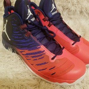 35077145c890 Nike Shoes - JORDAN SUPER FLY 5 MENS BASKETBALL SHOES Blue